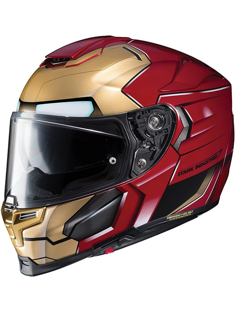 Casco HJC Iron Man
